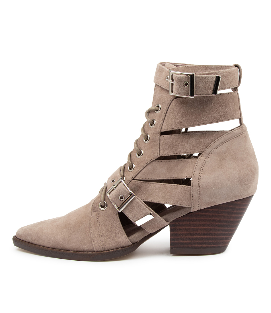 Buy Mollini Fayt Mo Taupe Ankle Boots online with free shipping