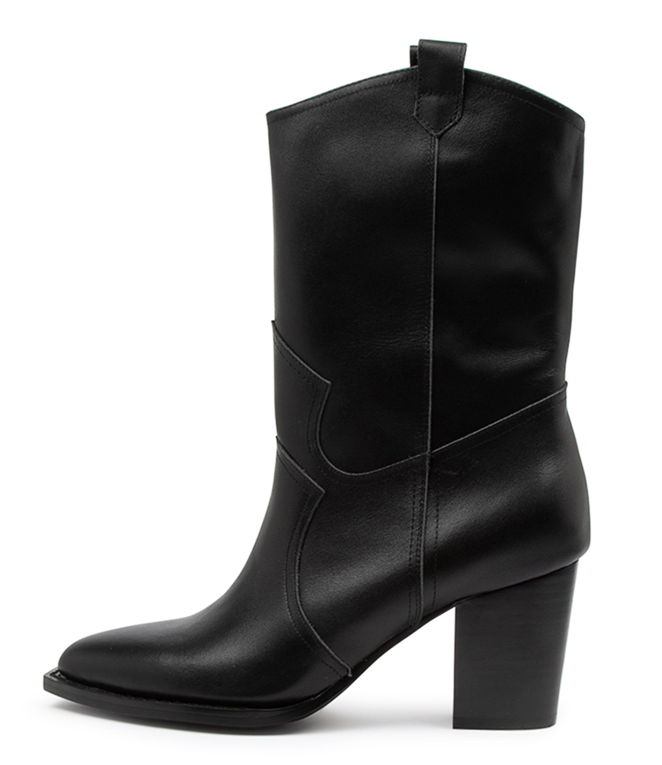 Buy Mollini Laydo Mo Black Calf Boots online with free shipping