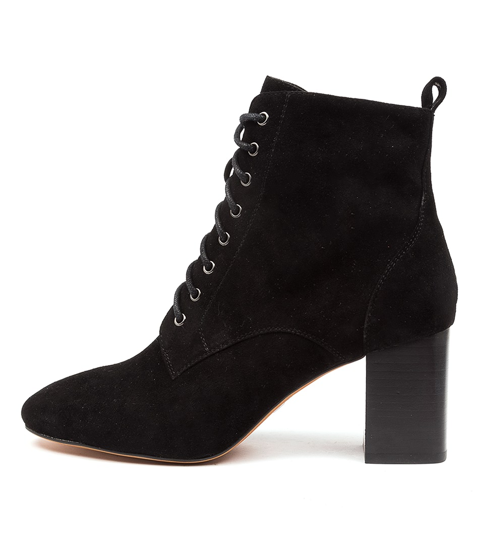 Buy Mollini Stream Mo Black Ankle Boots online with free shipping