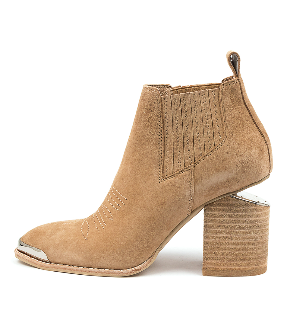 Buy Mollini Vight Mo Camel Ankle Boots online with free shipping