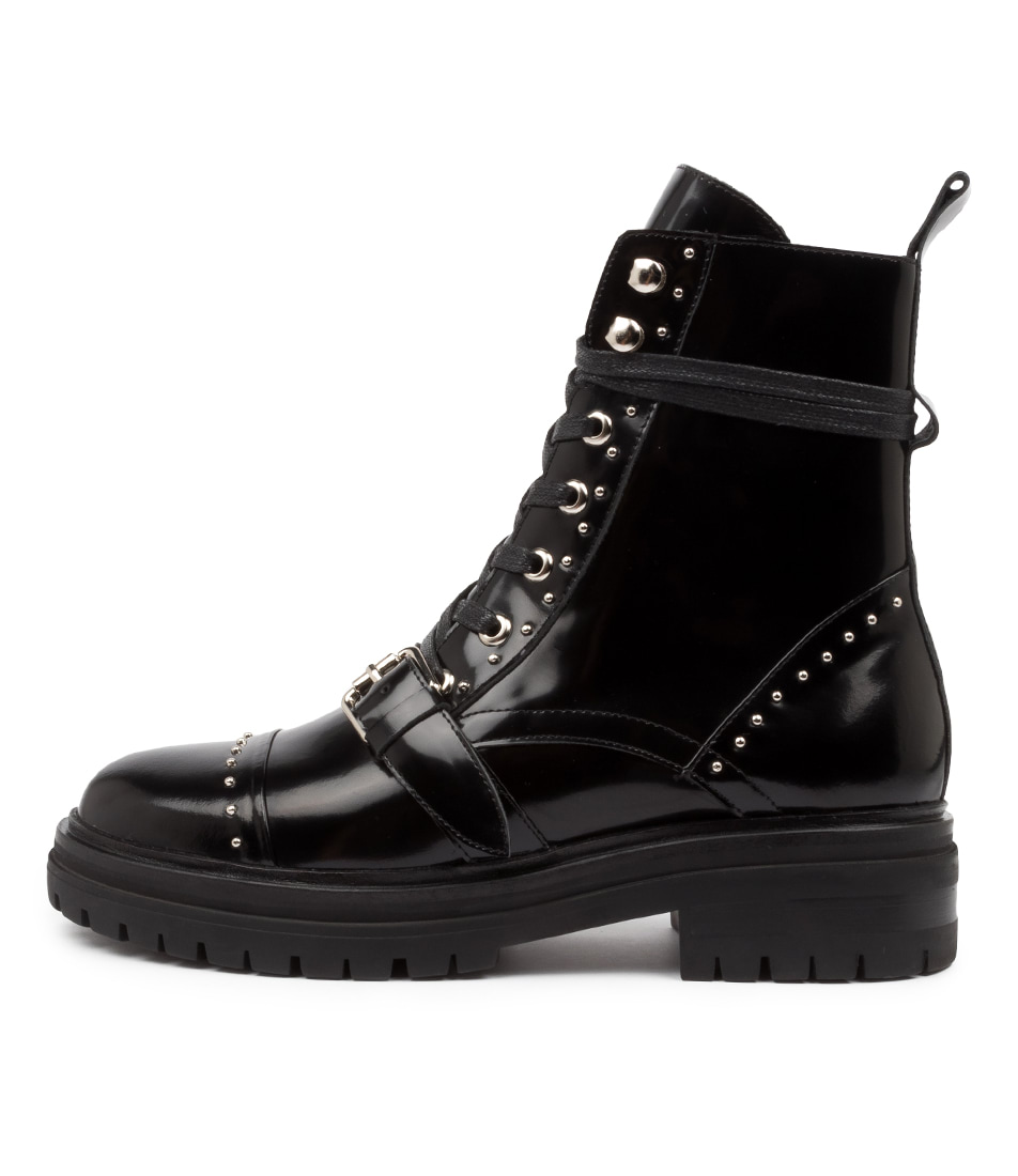 Buy Mollini Ashburn Mo Black Ankle Boots online with free shipping