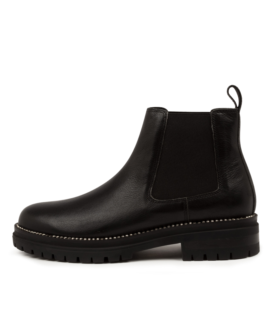 Buy Mollini Agaly Mo Black Jewel Ankle Boots online with free shipping