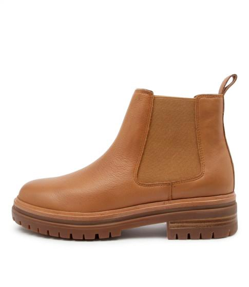 Buy Mollini Agaly Mo Dk Tan Ankle Boots online with free shipping