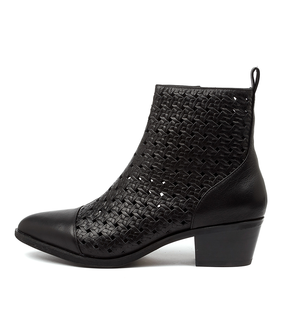 Buy Mollini Amallee Mo Black Ankle Boots online with free shipping