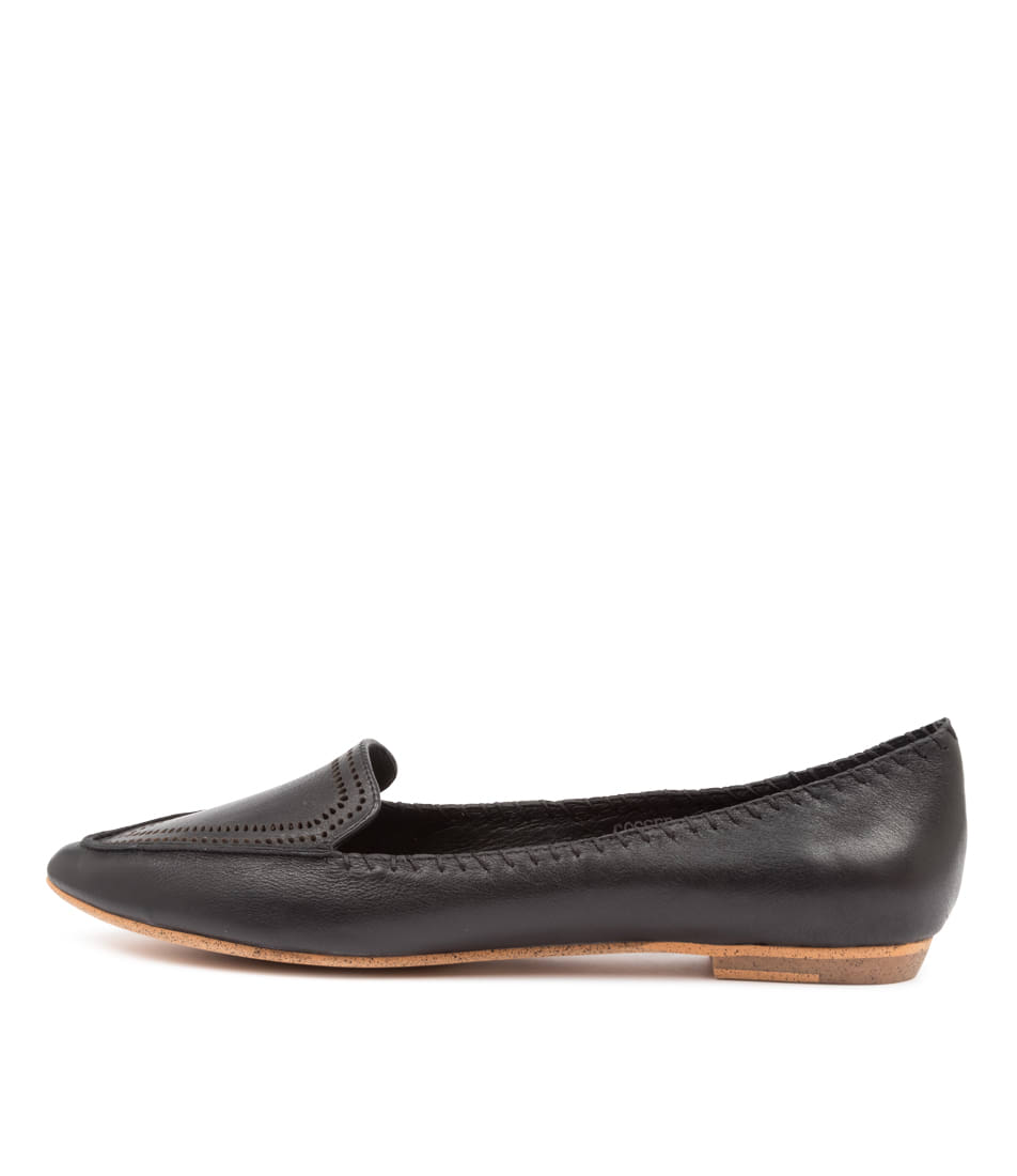 Buy Mollini Gossee Mo Black Flats online with free shipping