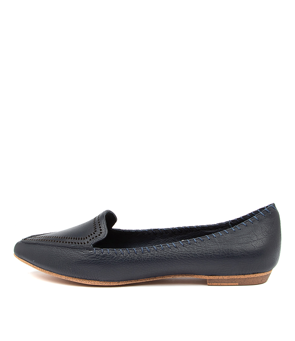 Buy Mollini Gossee Mo Navy Flats online with free shipping