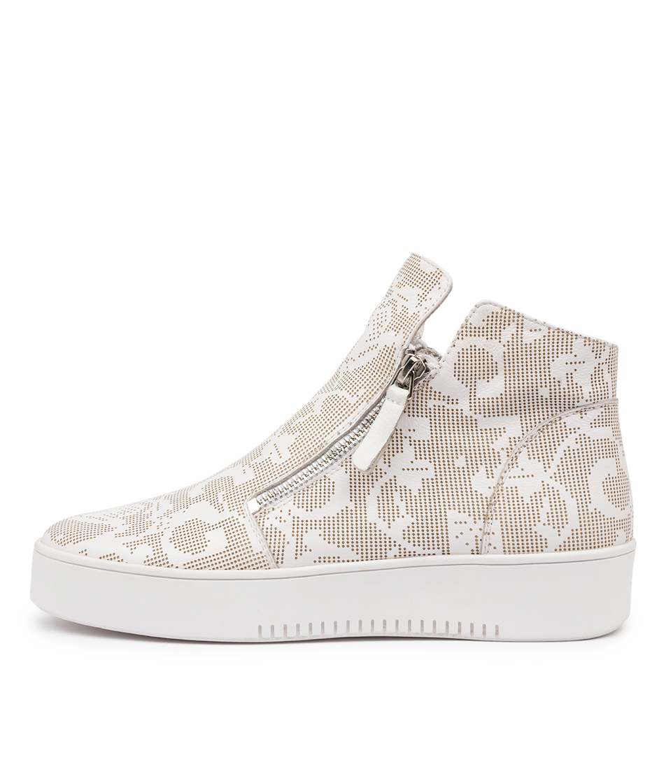 Buy Mollini Letme Mo White Sneakers online with free shipping