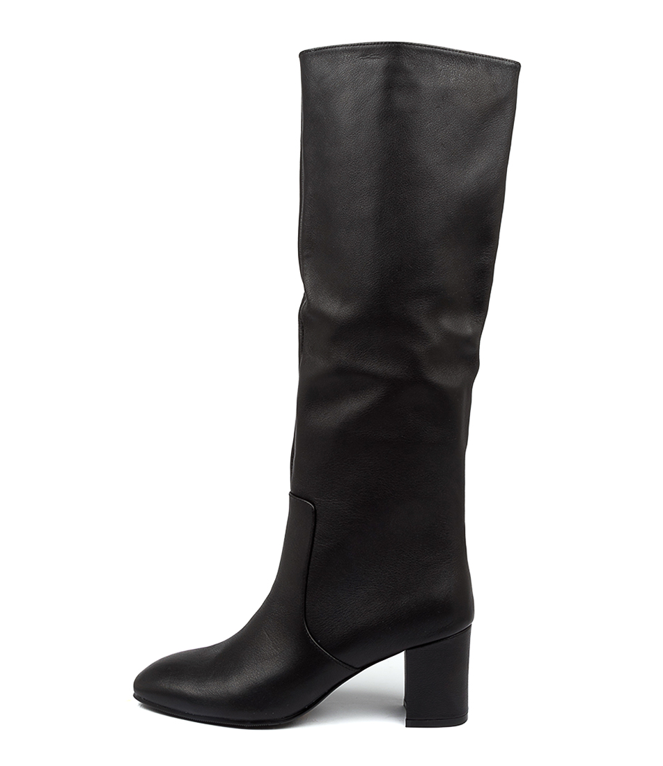 Buy Mollini Liuna Mo Black Long Boots online with free shipping