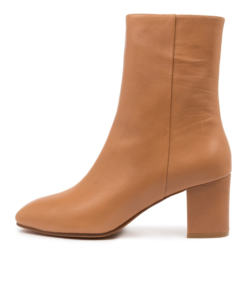 Buy Mollini Liuu Mo Camel Ankle Boots online with free shipping