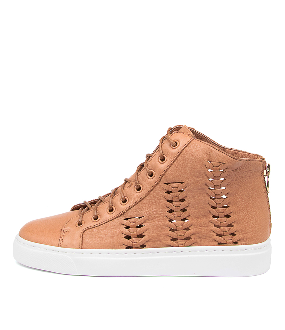 Buy Mollini Owest Mo Dk Tan Sneakers online with free shipping