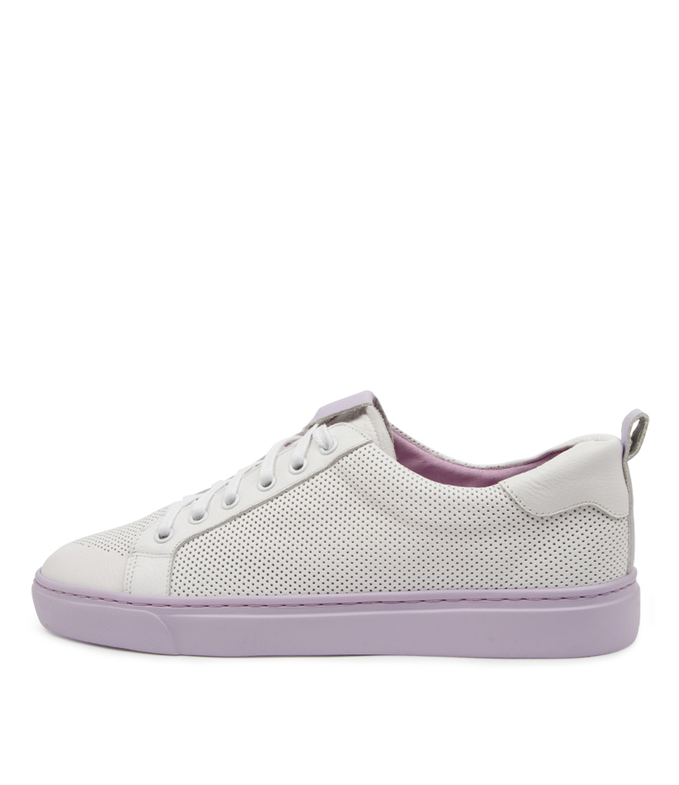 Buy Mollini Ofind Mo White Lilac Sneakers online with free shipping