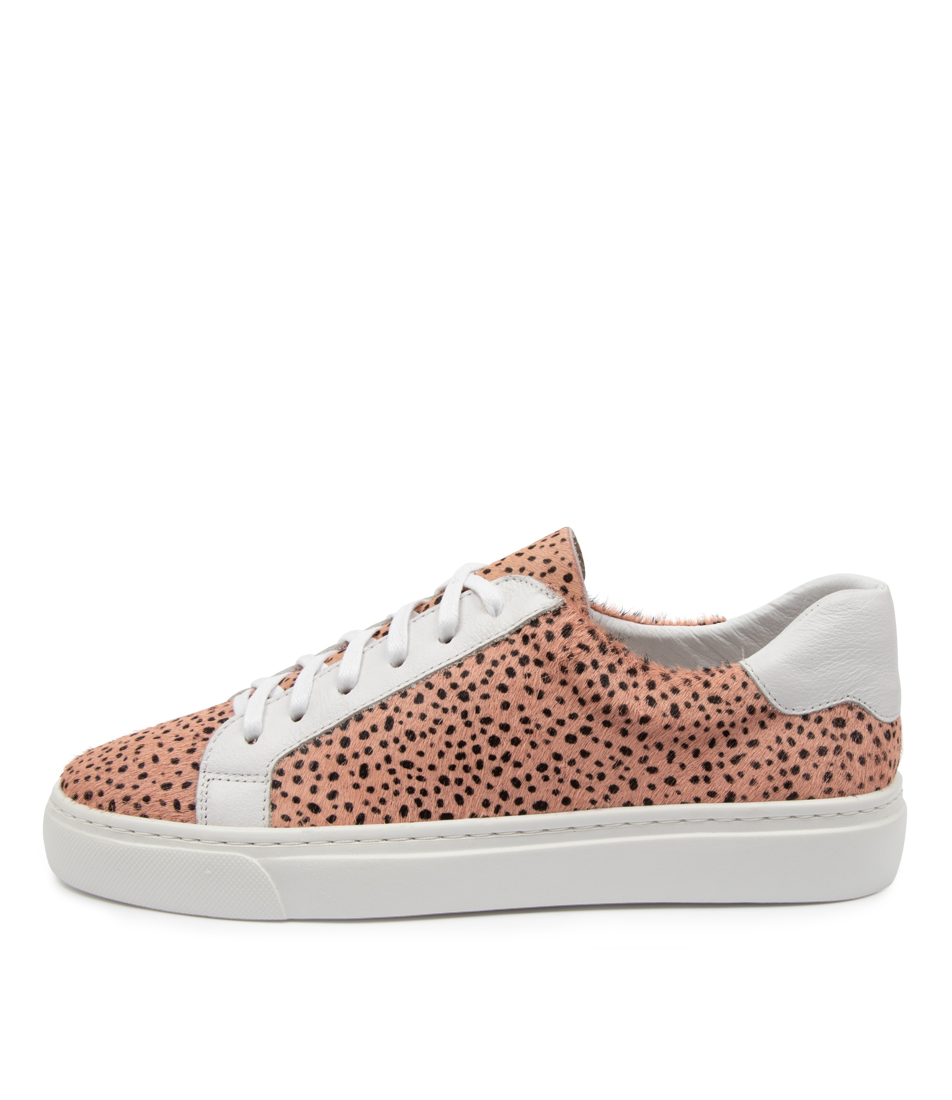 Buy Mollini Otimo Mo Nude Speckle White Sneakers online with free shipping