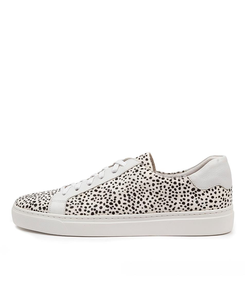 Buy Mollini Otimo Mo Black & White Whi Sneakers online with free shipping