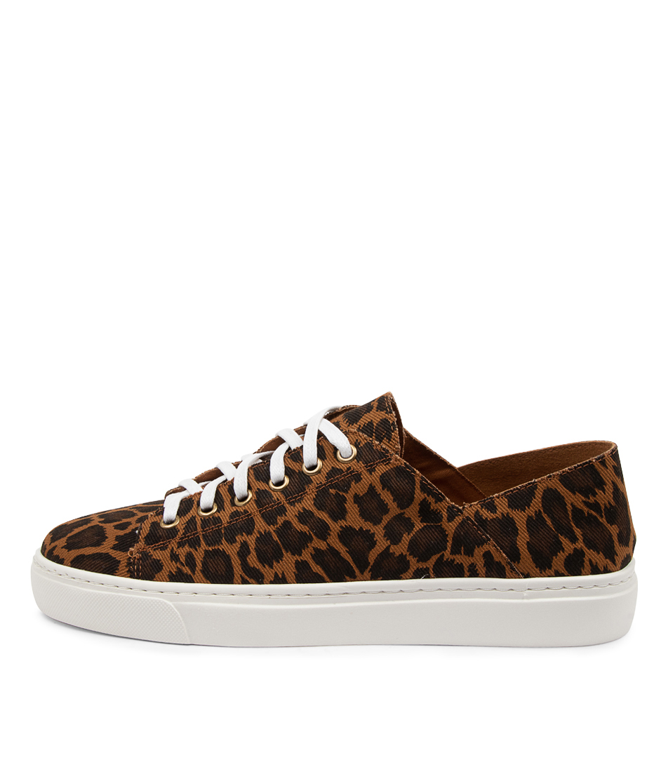 Buy Mollini Oleopard Mo Tan Leopard Sneakers online with free shipping