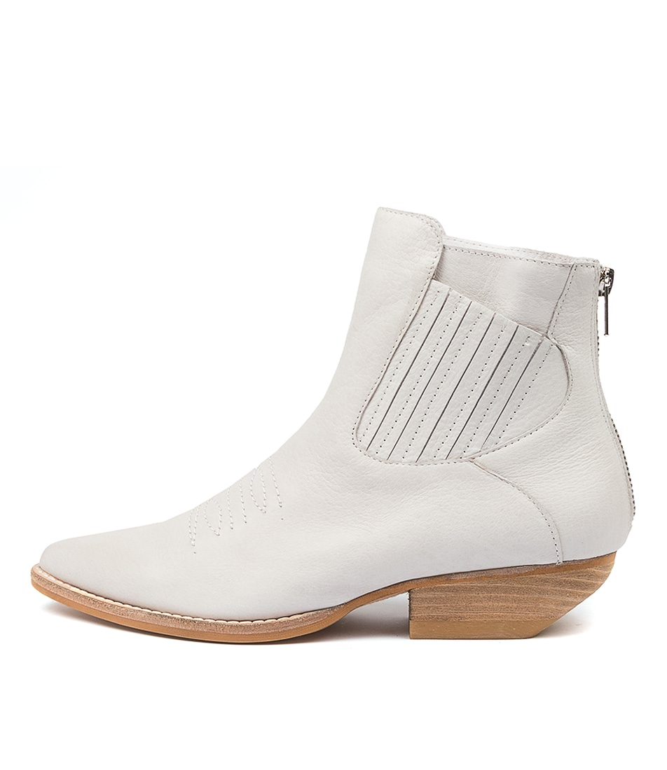 Buy Mollini Puly Mo Winter White Ankle Boots online with free shipping