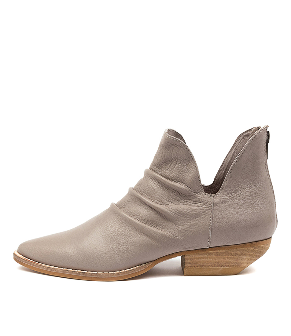 Buy Mollini Payor Mo Taupe Ankle Boots online with free shipping