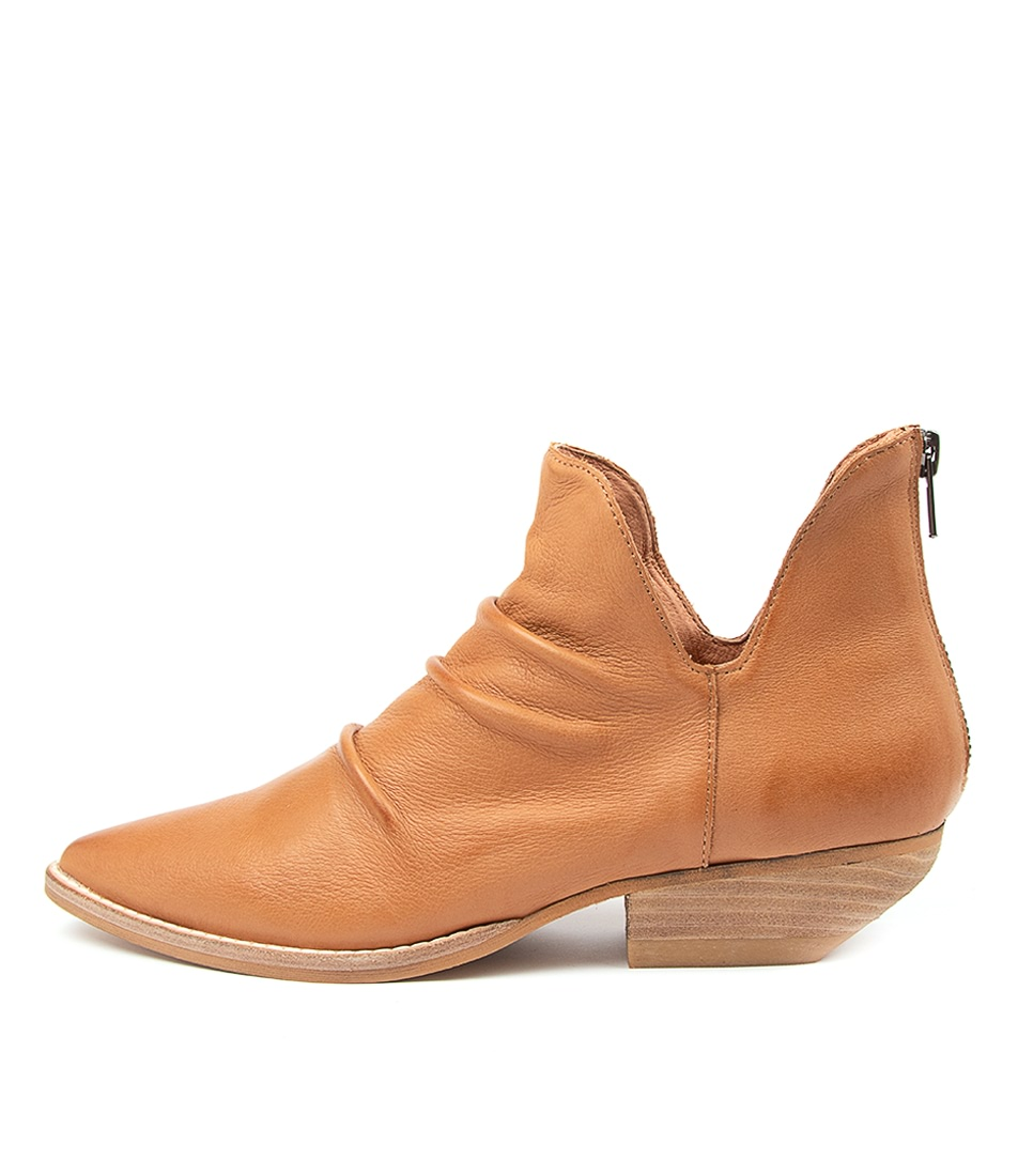 Buy Mollini Payor Mo Tan Ankle Boots online with free shipping