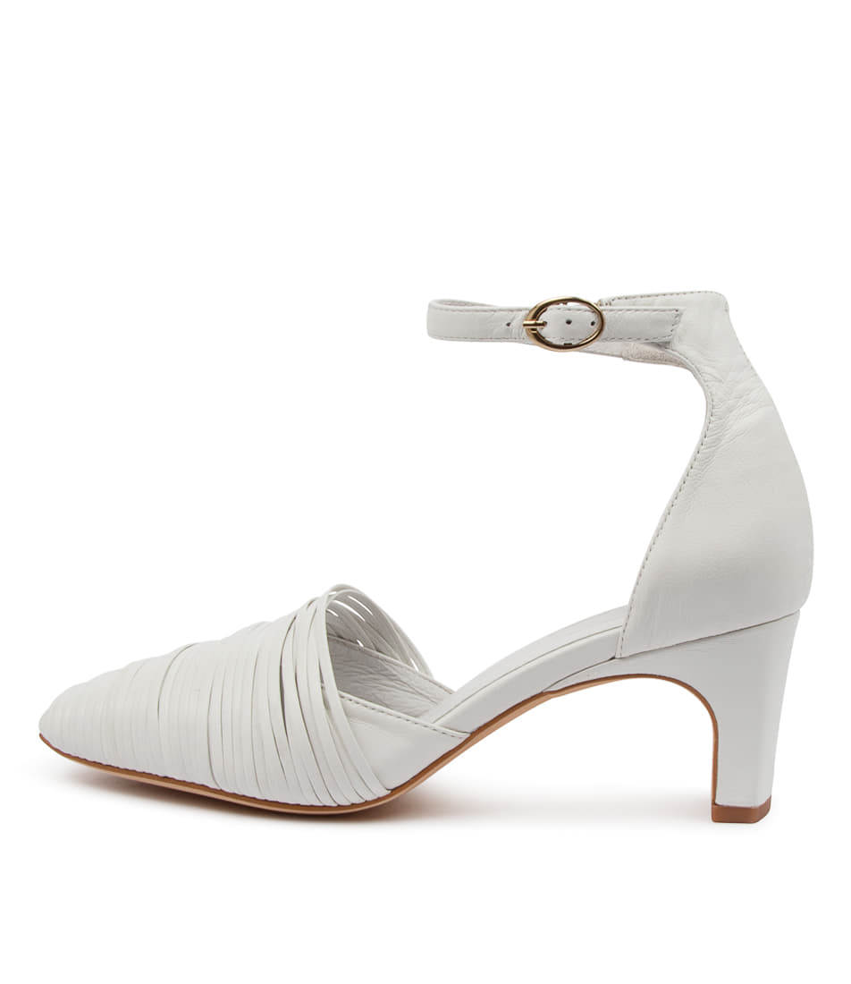 Buy Mollini Shibo Mo White High Heels online with free shipping