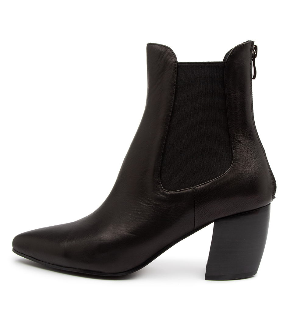 Buy Mollini Ushola Mo Black Ankle Boots online with free shipping