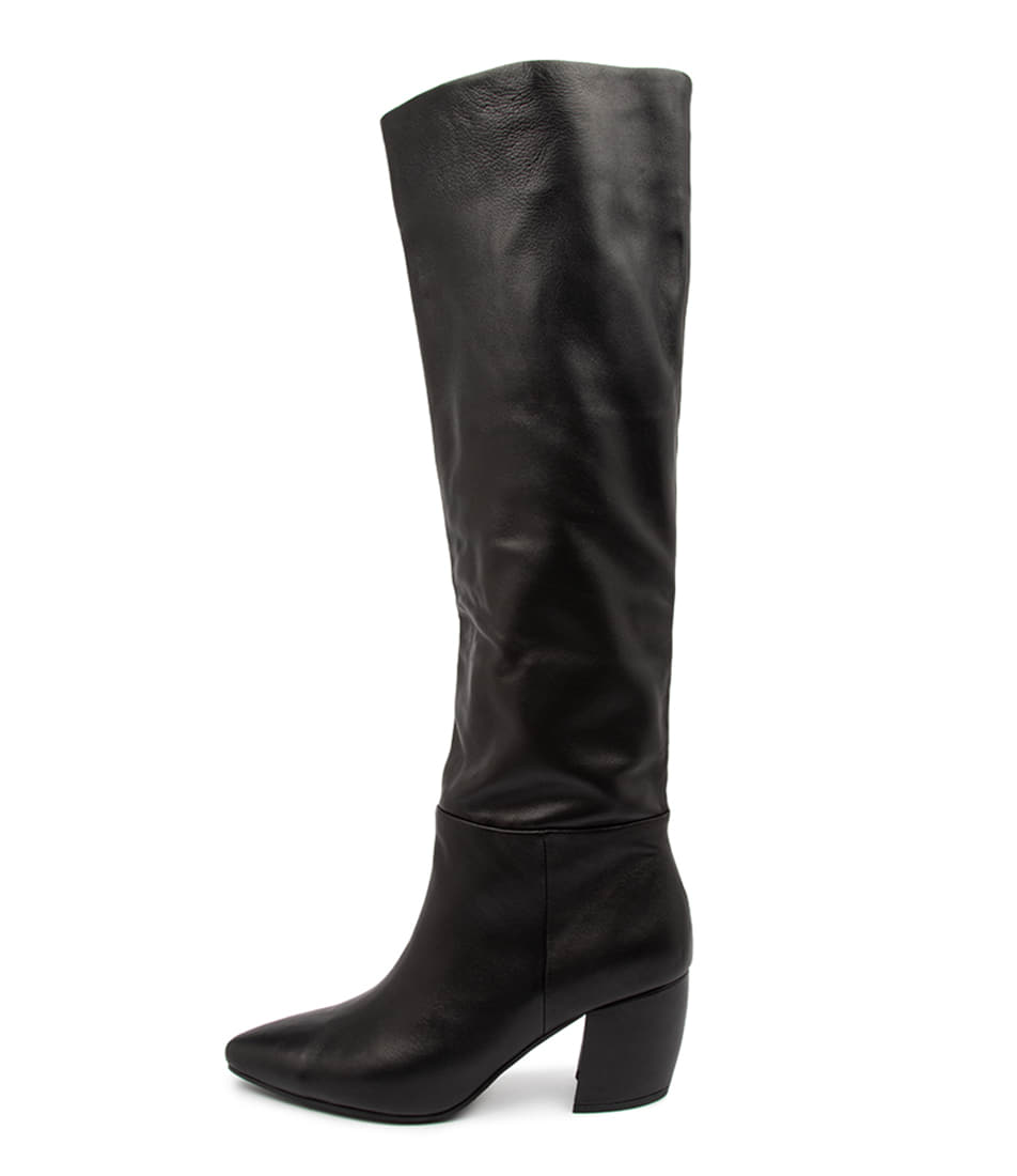 Buy Mollini Ufreya Mo Black Dress Long Boots online with free shipping