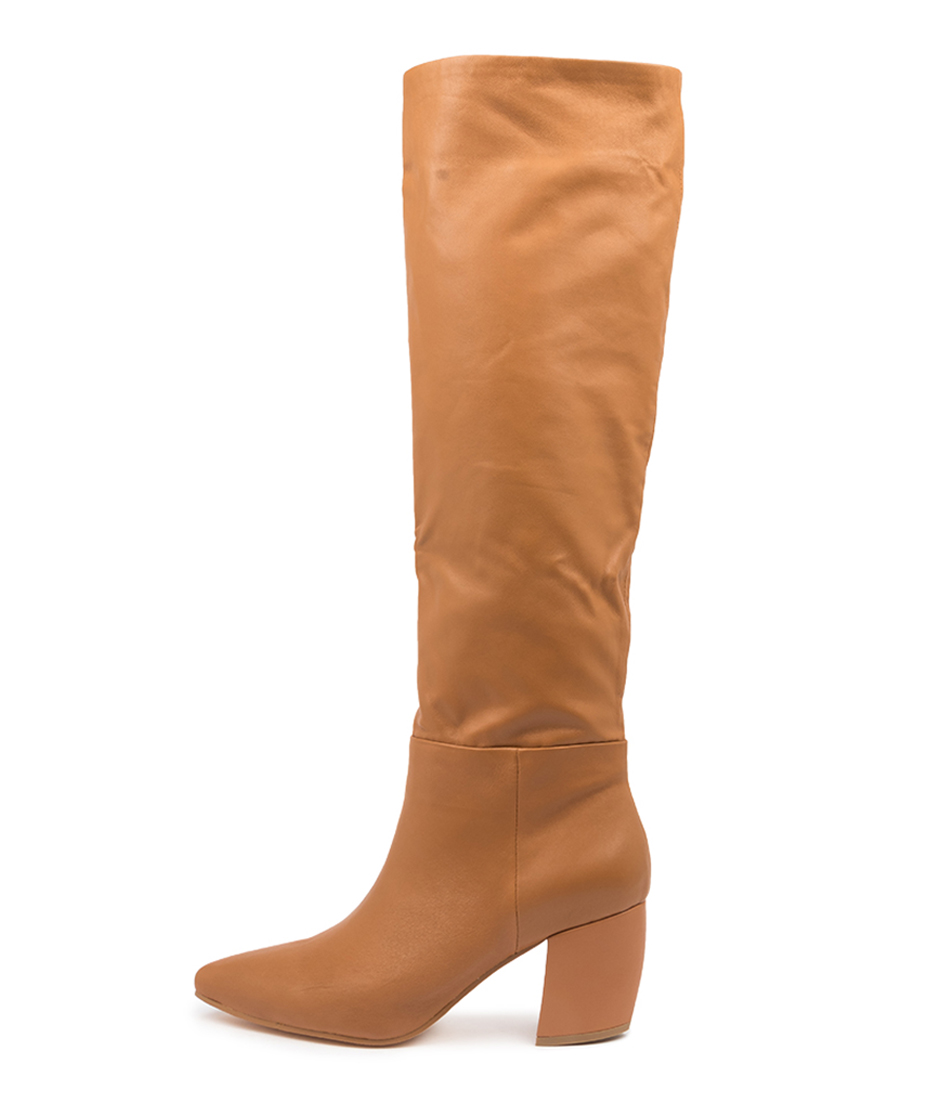 Buy Mollini Ufreya Mo Camel Dress Long Boots online with free shipping