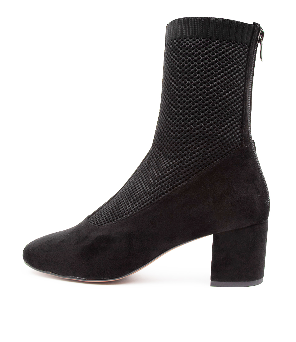 Buy Mollini Camesh Mo Black Ankle Boots online with free shipping