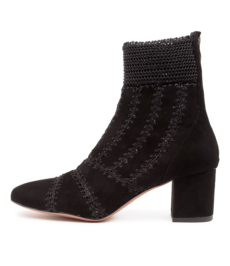 Buy Mollini Calesa Mo Black Dress Ankle Boots online with free shipping