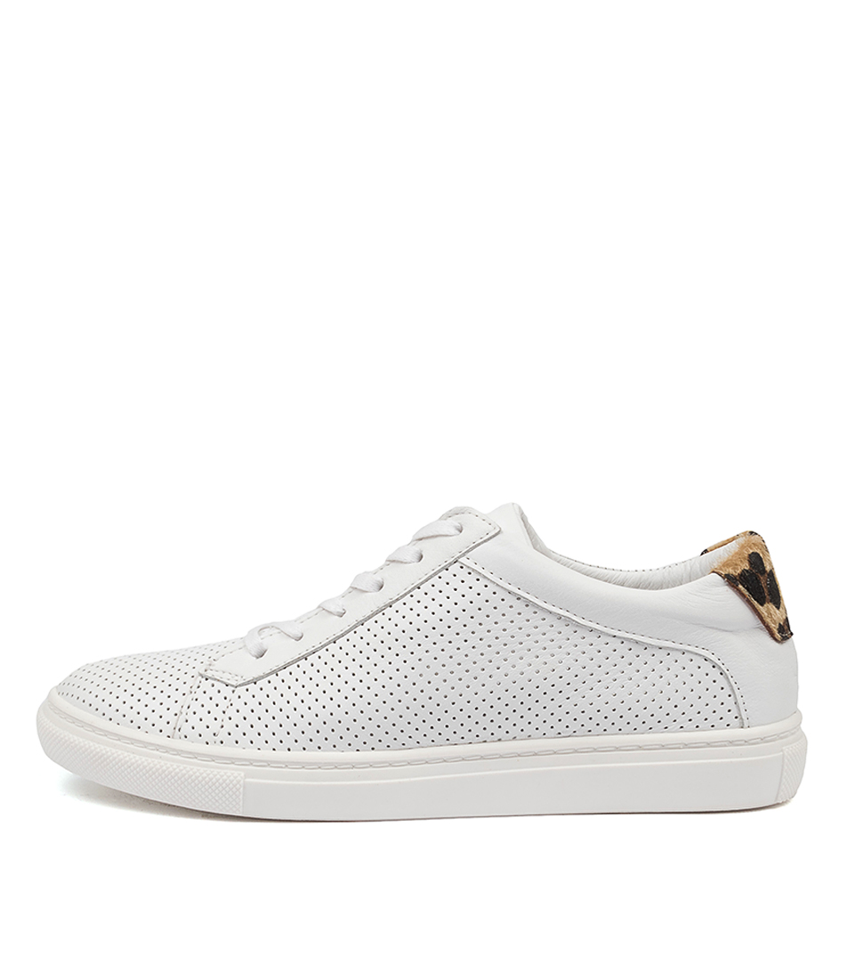 Buy Mollini Ebber Mo White Leopard Sneakers online with free shipping