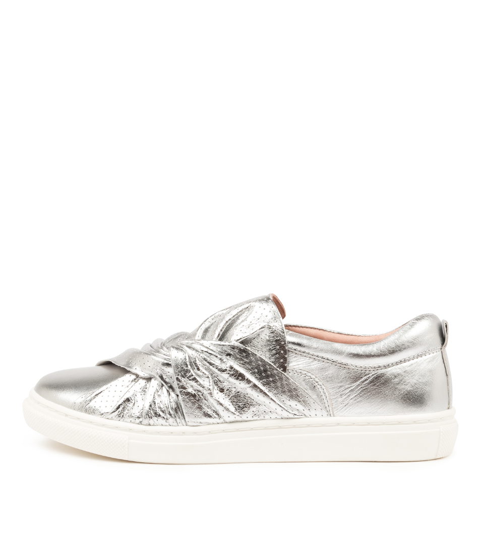 Buy Mollini Ellen Mo Silver Sneakers online with free shipping