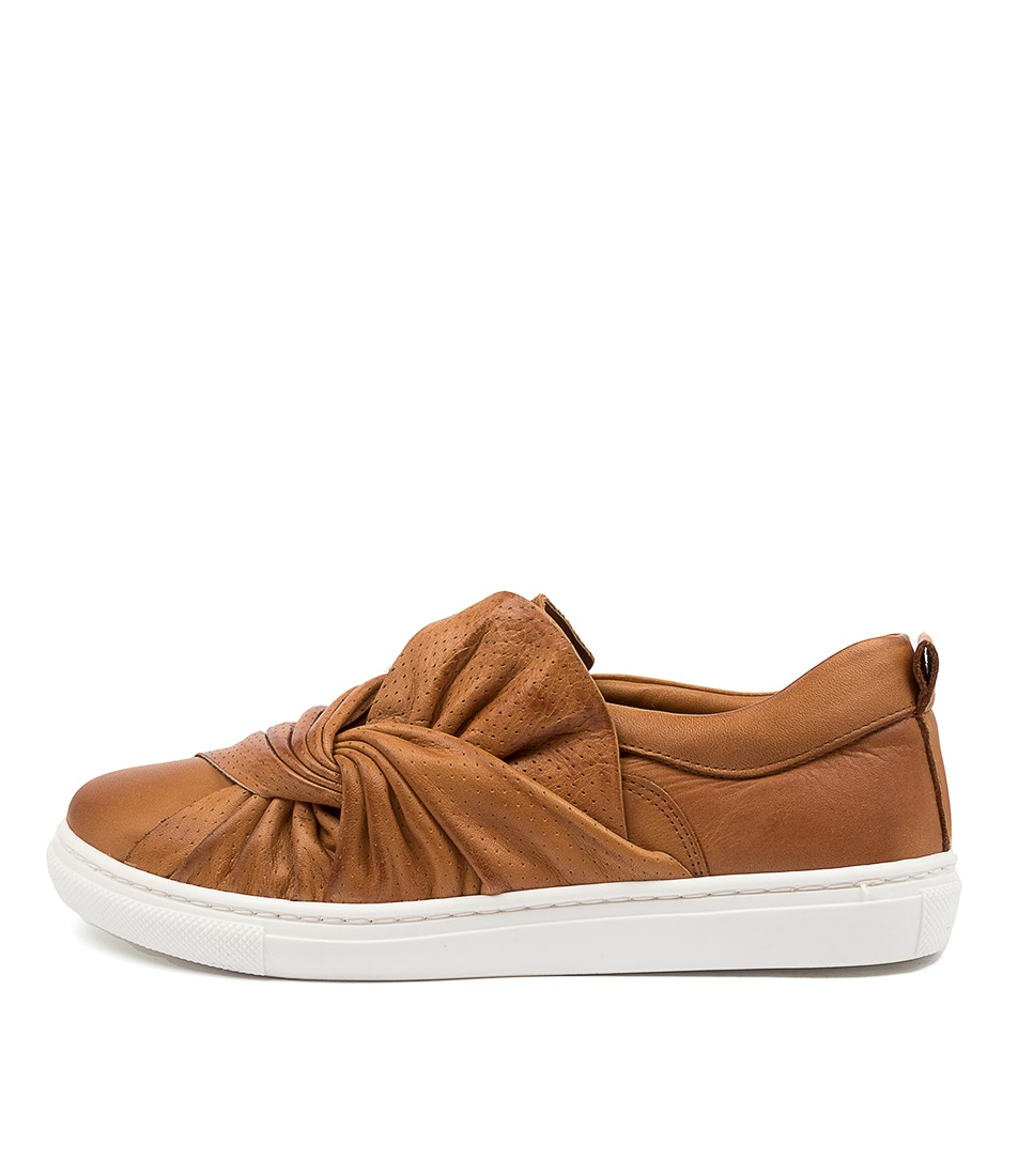 Buy Mollini Ellen Mo Tan Sneakers online with free shipping