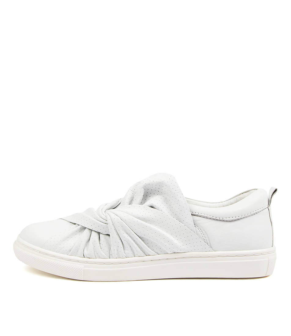 Buy Mollini Ellen Mo White Sneakers online with free shipping