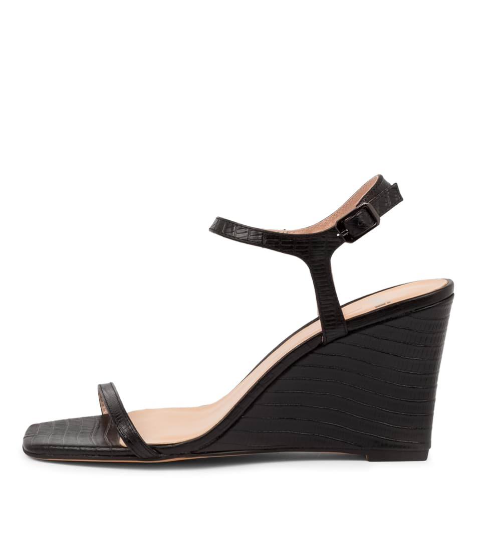Buy Mollini Aesop Mo Black Heeled Sandals online with free shipping