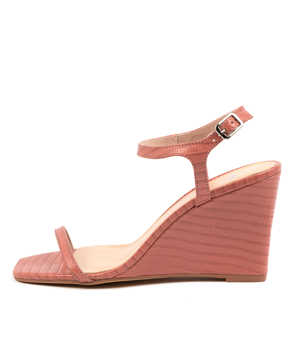 Buy Mollini Aesop Mo Blush Heeled Sandals online with free shipping