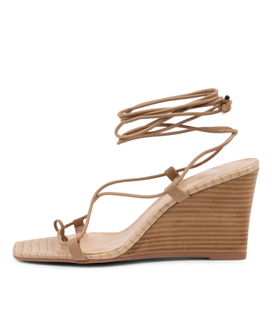 Buy Mollini Alyoop Mo Latte Natural Heel Heeled Sandals online with free shipping
