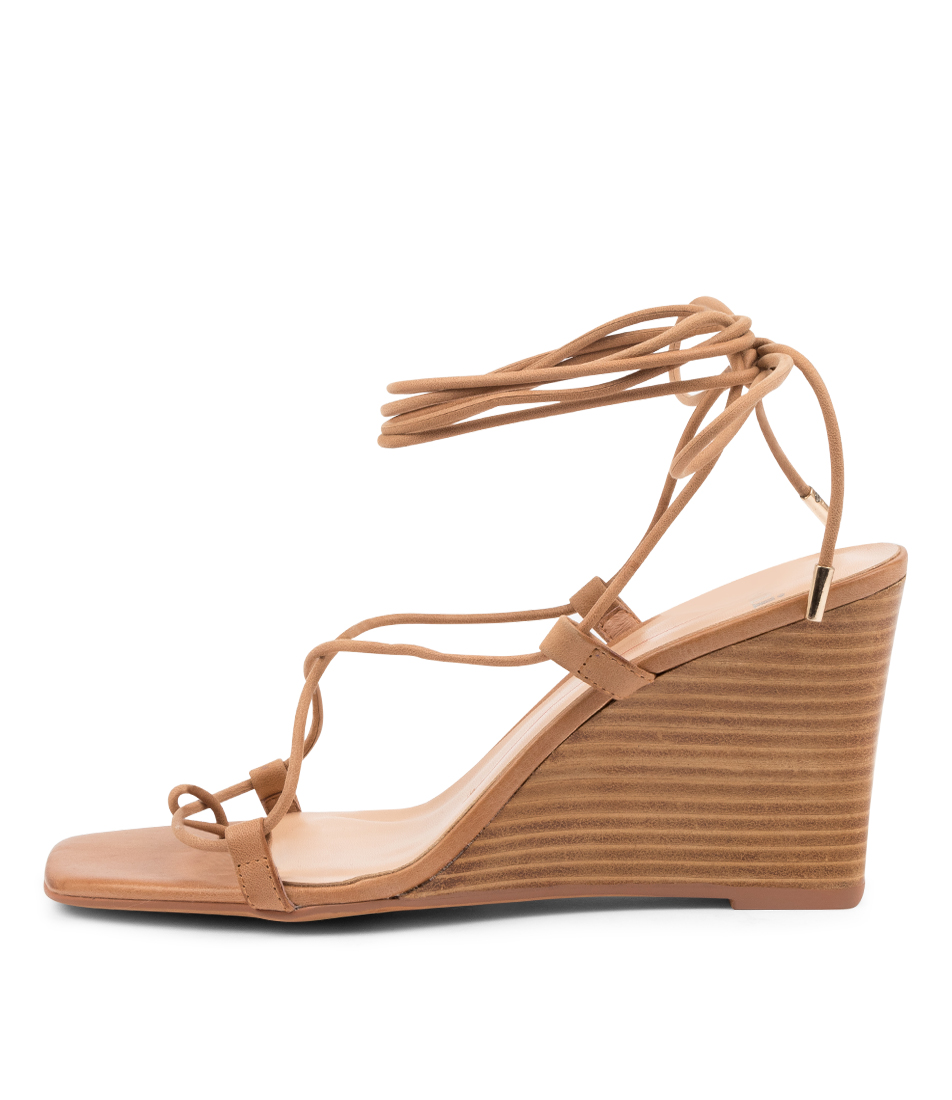 Buy Mollini Alyoop Mo Tan Natural Heel Heeled Sandals online with free shipping