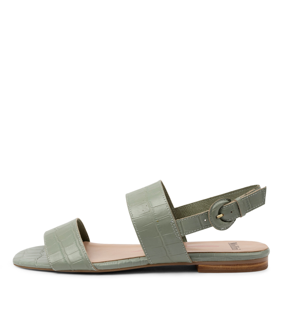 Buy Mollini Alamanca Mo Mint Flat Sandals online with free shipping