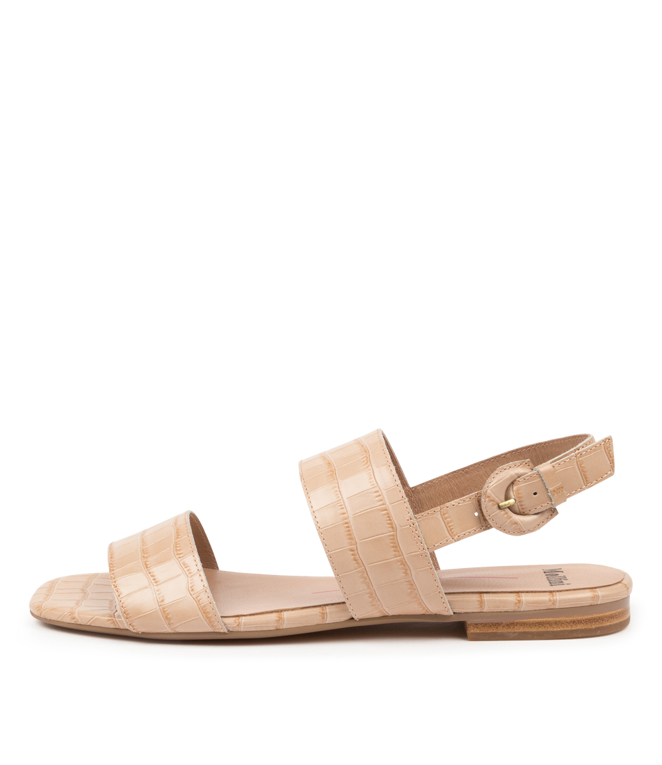 Buy Mollini Alamanca Mo Latte Flat Sandals online with free shipping