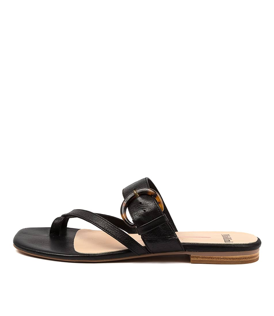 Buy Mollini Annay Mo Black Flat Sandals online with free shipping
