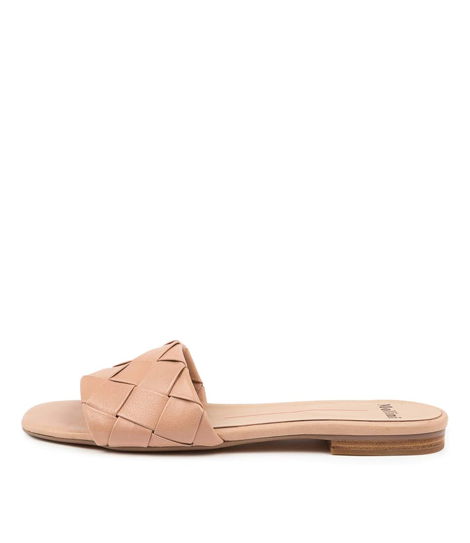 Buy Mollini Ayday Mo Dk Nude Flat Sandals online with free shipping