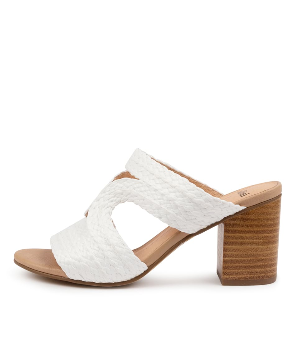 Buy Mollini Acaptain Mo White Heeled Sandals online with free shipping