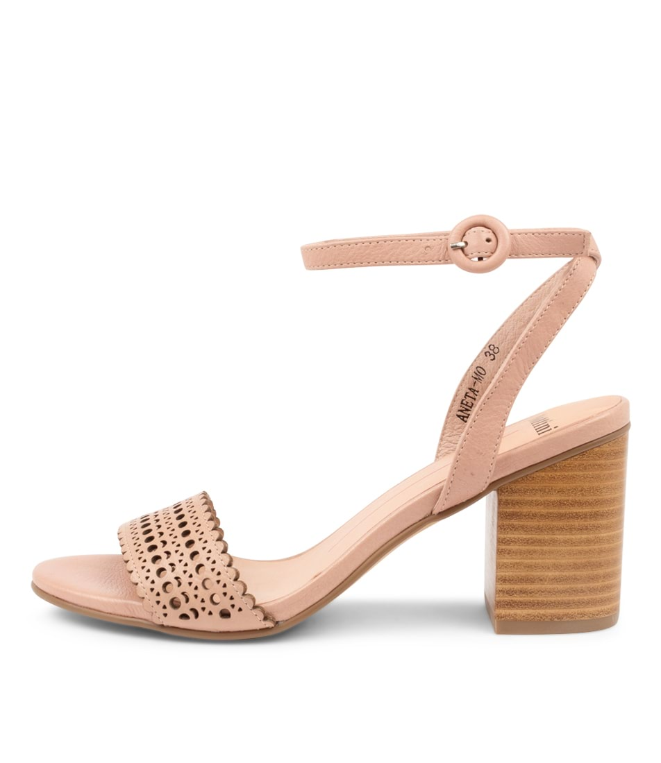 Buy Mollini Aneta Mo Blush Heeled Sandals online with free shipping