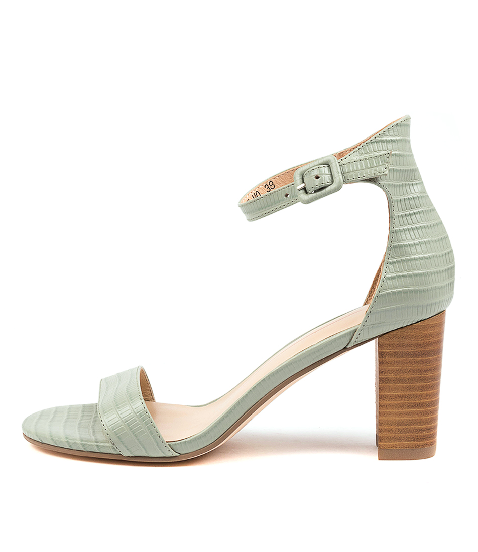 Buy Mollini Geremy Mo Mint Natural Heel Heeled Sandals online with free shipping
