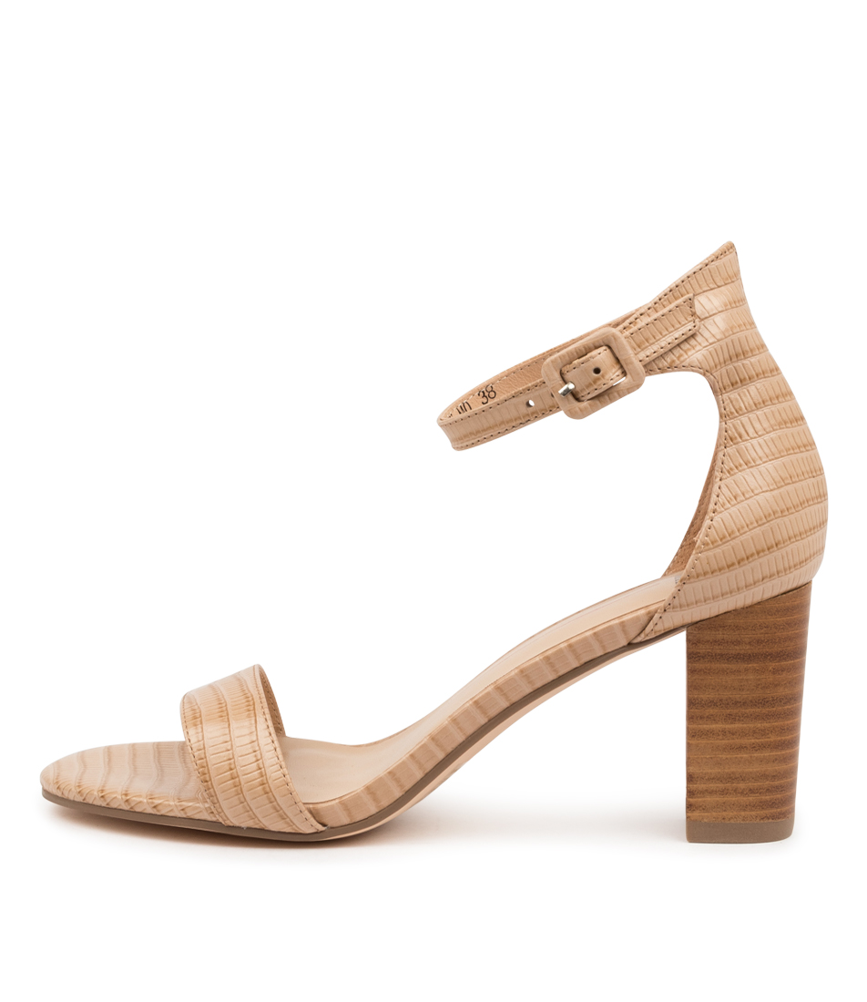 Buy Mollini Geremy Mo Latte Natural Heel Heeled Sandals online with free shipping