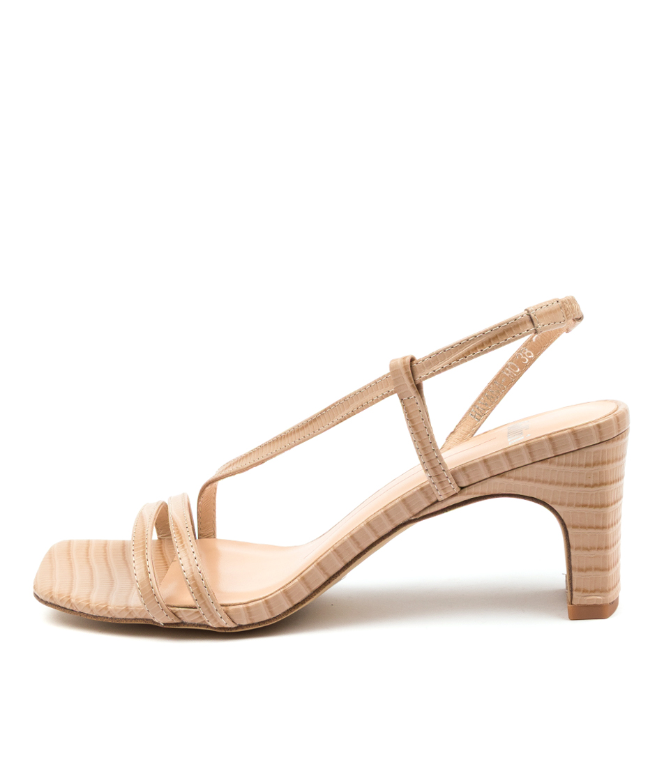 Buy Mollini Havana Mo Latte Heeled Sandals online with free shipping