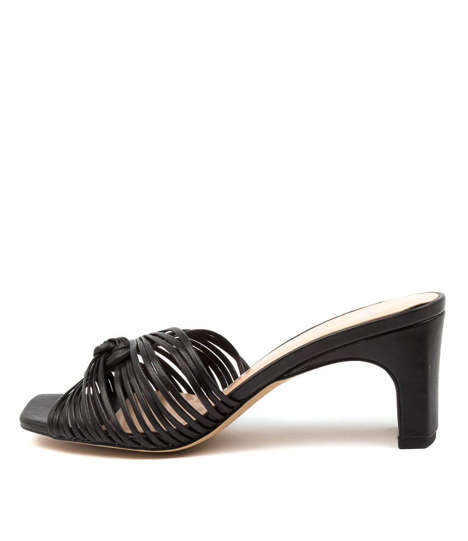 Buy Mollini Heavenish Mo Black Heeled Sandals online with free shipping