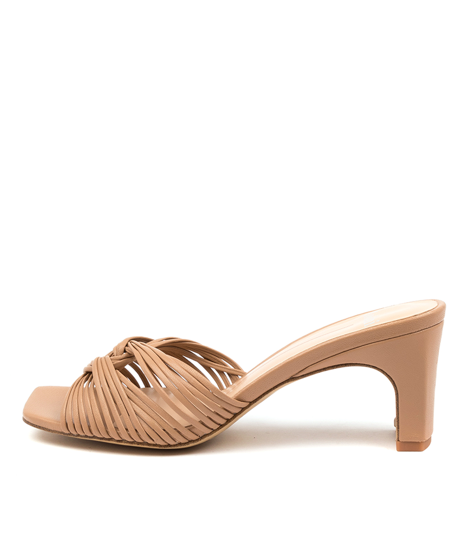 Buy Mollini Heavenish Mo Dk Nude Heeled Sandals online with free shipping