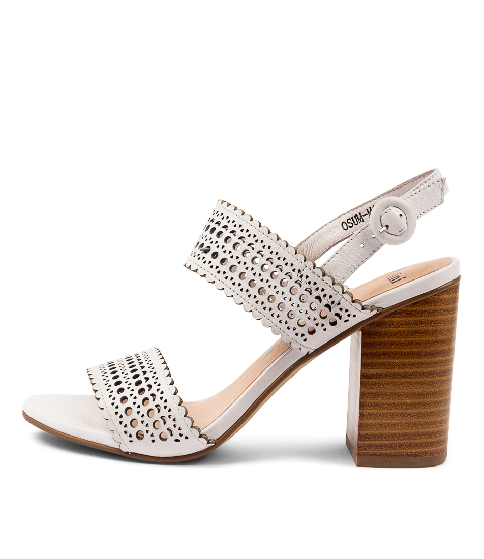 Buy Mollini Osum Mo White Heeled Sandals online with free shipping