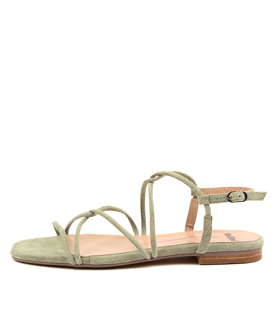 Buy Mollini Amare Mo Sage Flat Sandals online with free shipping