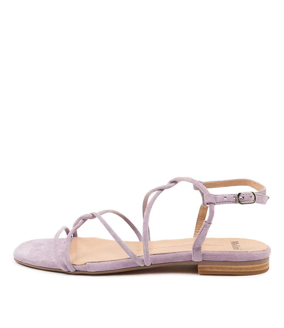 Buy Mollini Amare Mo Lilac Flat Sandals online with free shipping