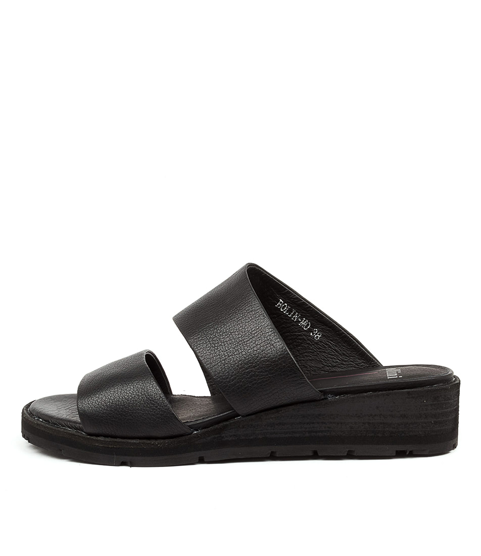Buy Mollini Bolin Mo Black Heeled Sandals online with free shipping